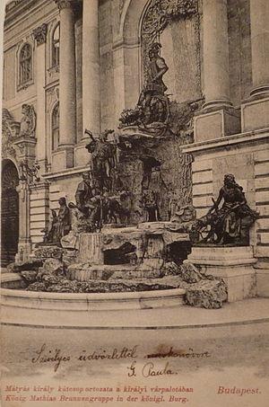 Matthias Fountain - Image: Mátyás archív