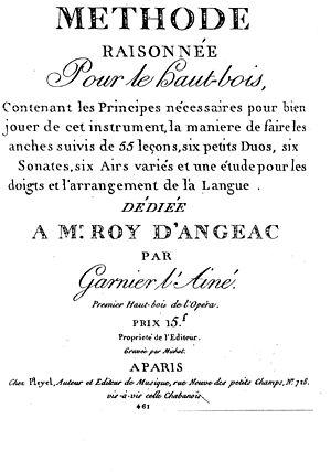 Joseph-François Garnier - Méthode raisonnée by Joseph François Garnier, 1798