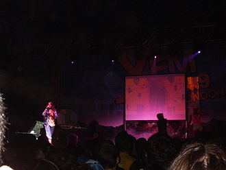 Wireless Festival - M.I.A. performing on the XFM stage in 2005