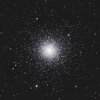 Messier 3 - Messier 3 with amateur telescope