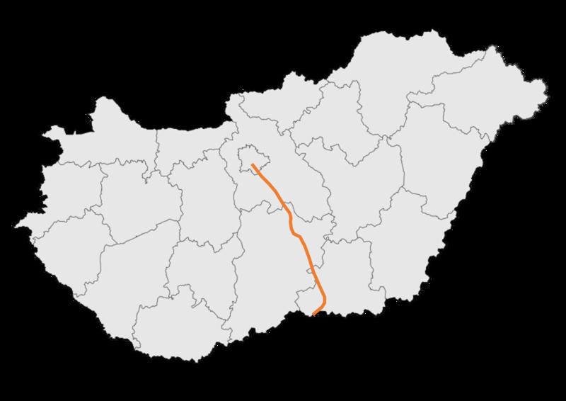 autópálya térkép File:M5 autopalya   terkep.png   Wikimedia Commons