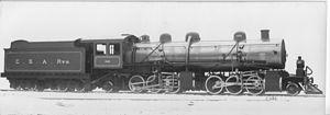 2-6-6-2 - CSAR experimental Mallet, SAR Class MD