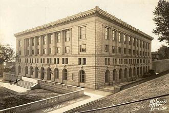 Gerald W. Heaney Federal Building, United States Courthouse and Custom House - The building as it appeared in 1930.