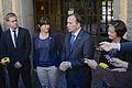 MP och S inleder regeringsförhandlingar sept 2014.jpg