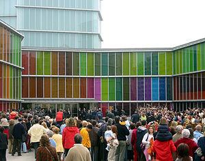 Museo de Arte Contemporáneo de Castilla y León - Image: MUSAC OPENING DAY