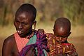 Maasai Mother and Child, Outside Masai Mara, 2006.JPG