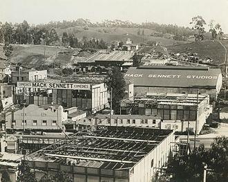 Mack Sennett - Mack Sennett Studios, c. 1917