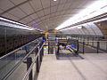 Macquarie University Station Platform escalators.jpg