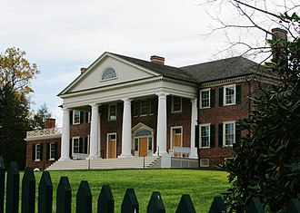 James Madison - Montpelier, Madison's tobacco plantation in Virginia
