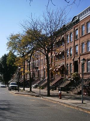 Jackson Hill, Jersey City - Madison Avenue in Jackson Hill