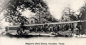 Magnolia Park, Houston - Magnolia Park in the 1890s