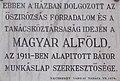Magyar Alföld, a bátor munkáslap szerkesztősége, Kossuth tér, Kecskemét 2016 Hungary.jpg