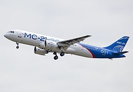 Maiden flight of MC-21.jpg
