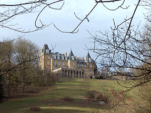 Maillen - The Ronchinne Castle in Maillen is the former home of Princess Clémentine, daughter of Belgian King Leopold II.