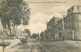 Farmington (CDP), Maine Census-designated place in Maine, United States