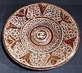 Maiolica ispano-moresca, piatto a lustro, manises, 1450-1475 circa 02.jpg