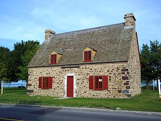 Verdun, Quebec - Maison Étienne Nivard de Saint-Dizier