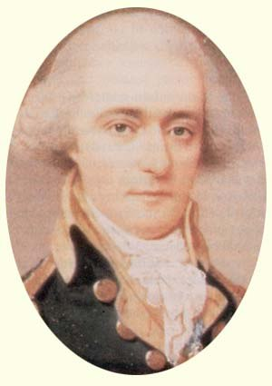 William Jackson (secretary) - Miniature of Major Jackson, 1793, unknown artist