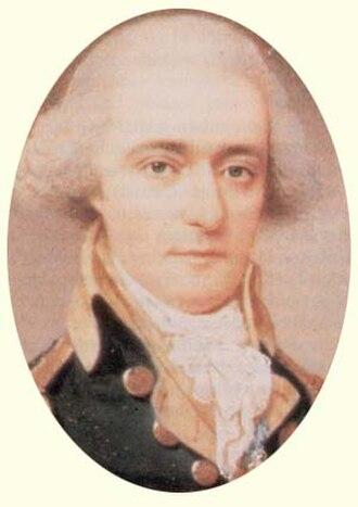 William Jackson (secretary) - Miniature of Major Jackson, 1793, unknown artist