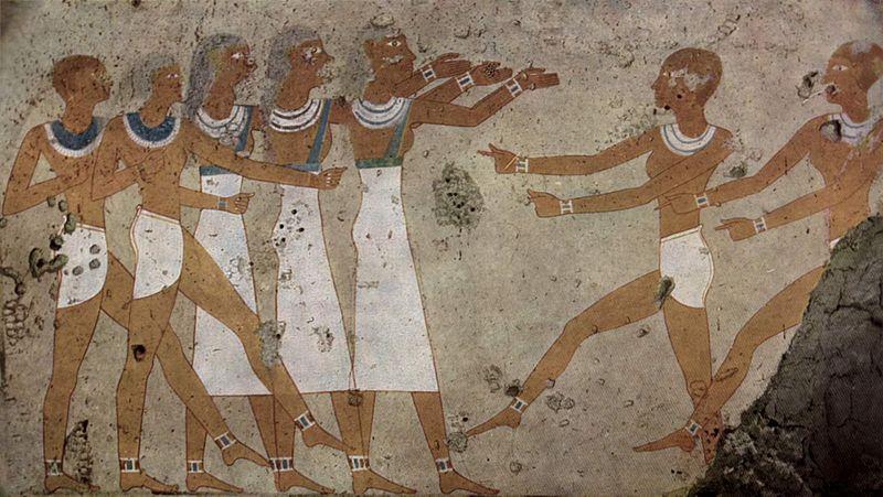 File:Maler der Grabkammer des Antefoker 001.jpg