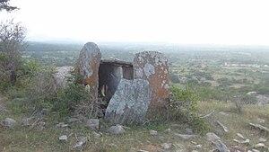Krishnagiri - Megalith structure, Mallachandram village, near Krishnagiri, India