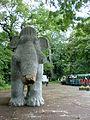 Mammut am Eingang des Spreeparks.JPG