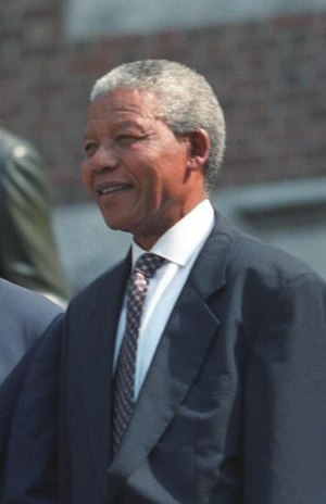 Negotiations to end apartheid in South Africa - Nelson Mandela