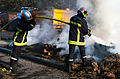 Manifestation agriculteurs Toulouse (07 novembre 2014) -Sapeurs Pompiers Avenues Jean Jaurès.jpg