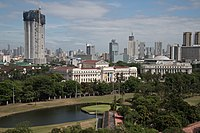 Manila as seen from Intramuros.jpg