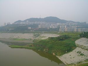 Maoping, Hubei - Maoping seen from the west