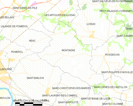Map commune FR insee code 33290.png