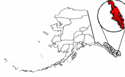 Map of Alaska highlighting Prince of Wales Island.png