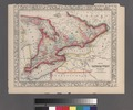 Map of Canada West in counties. NYPL1510795.tiff