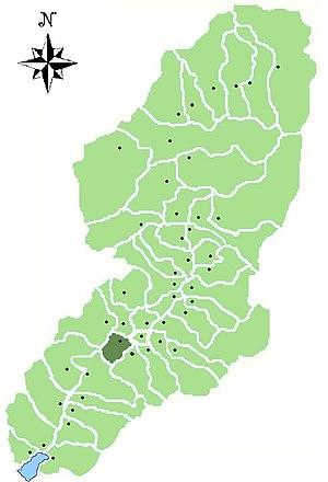 Piancogno - Location of Piancogno in Val Camonica