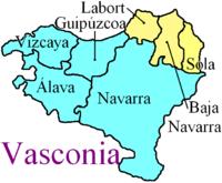 Mapa Pais Vasco Francia.Pais Vasco Frances Wikipedia La Enciclopedia Libre