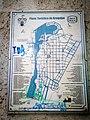Mapa turístic d Arequipa a la plaça San Francisco.jpg