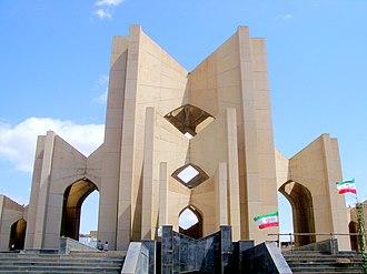Maqbaratoshoara - The building of the Mausoleum of Poets.