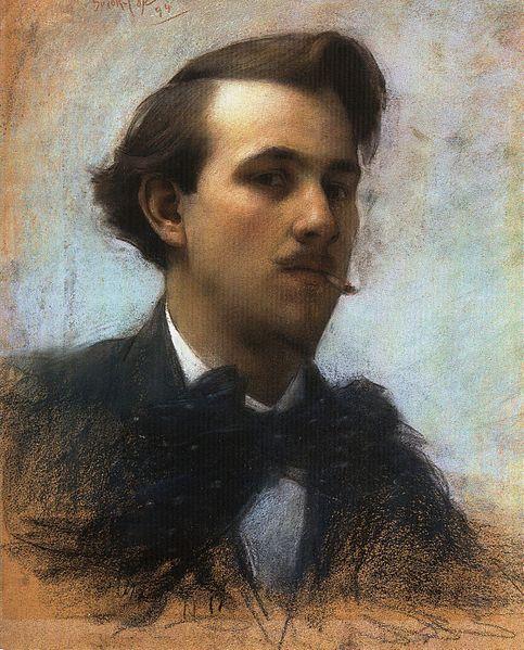 Autoportraits - Page 13 483px-Marc-Aurele_de_Foy_Suzor-Cote_-_Autoportrait_1894