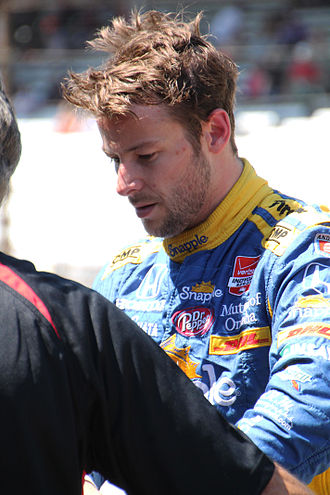 2017 Indianapolis 500 - Marco Andretti led practice on May 15.