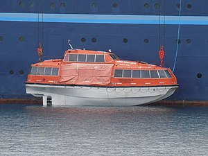 Marco Polo' lifeboat on the water Tallinn 11 June 2012.JPG