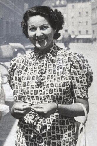 Margit Bokor - Image: Margit Bokor (1903–1949) © Wilhelm Willinger (1879–1943) Oe NB 8075049