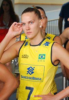 Marianne Steinbrecher Brazilian female volleyball player