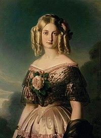 Maria Carolina Augusta di Borbone, Principessa delle Due Sicilie (1848).jpg