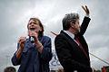 Marie-George Buffet et Jean-Luc Mélenchon Fête de l'Humanité 2011.jpg
