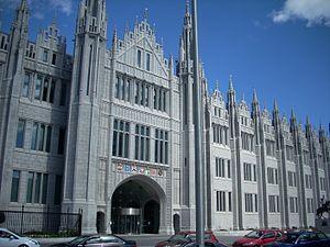 Universities in Scotland - Marischal College, Aberdeen