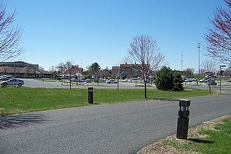 Marlboro Township, New Jersey - Marlboro Township's Municipal Complex contains the Town Hall and administrative offices, police station, Board of Education office, recreation center, recycling center, and other facilities