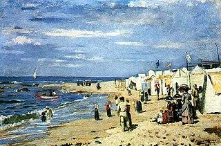 Beach of baths, Póvoa de Varzim