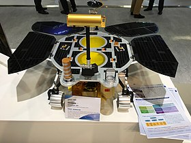 Mars Global Remote Sensing Orbiter and Small Rover at IAC Bremen 2018 02.jpg