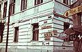 Marx (ekkor Kossuth Lajos) utca - Lenin (ekkor Rákóczi) utca sarok, a Csukargyinij-család egykori kúriája. Fortepan 73956.jpg