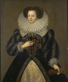 Mary Kytson, Lady Darcy 1583.png